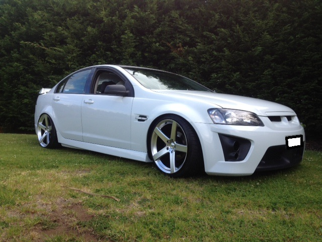 Holden Commodore on TSW Rivage