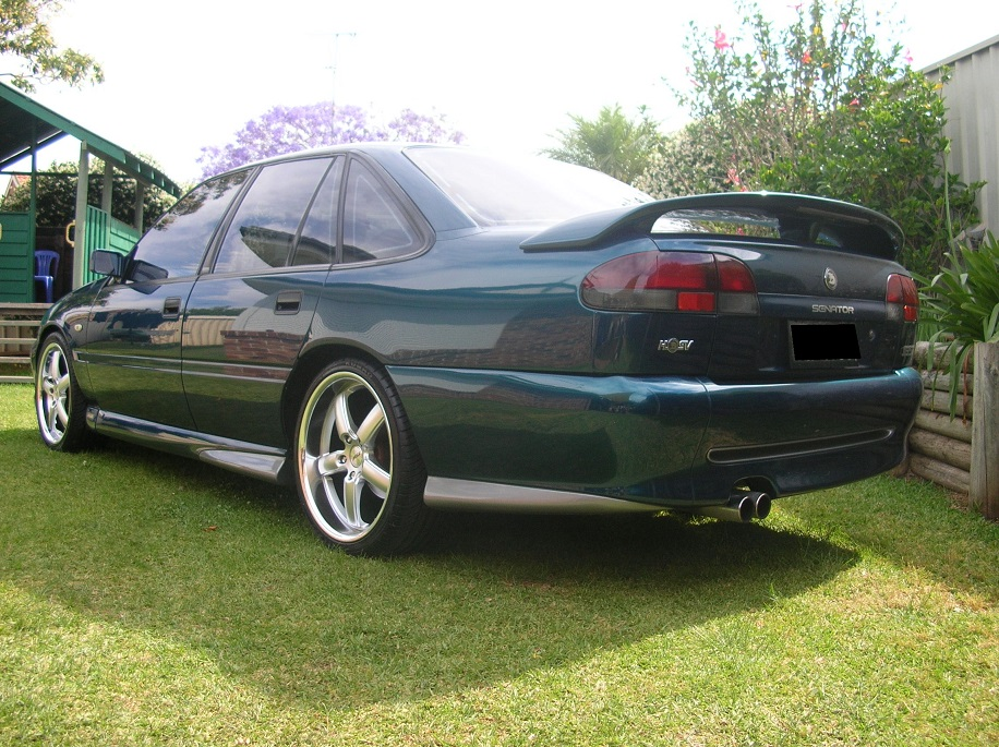 Holden Commodore on TSW Stowe