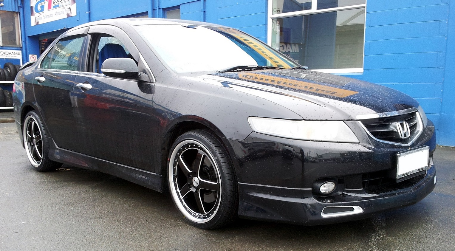Honda Accord on TSW Carthage