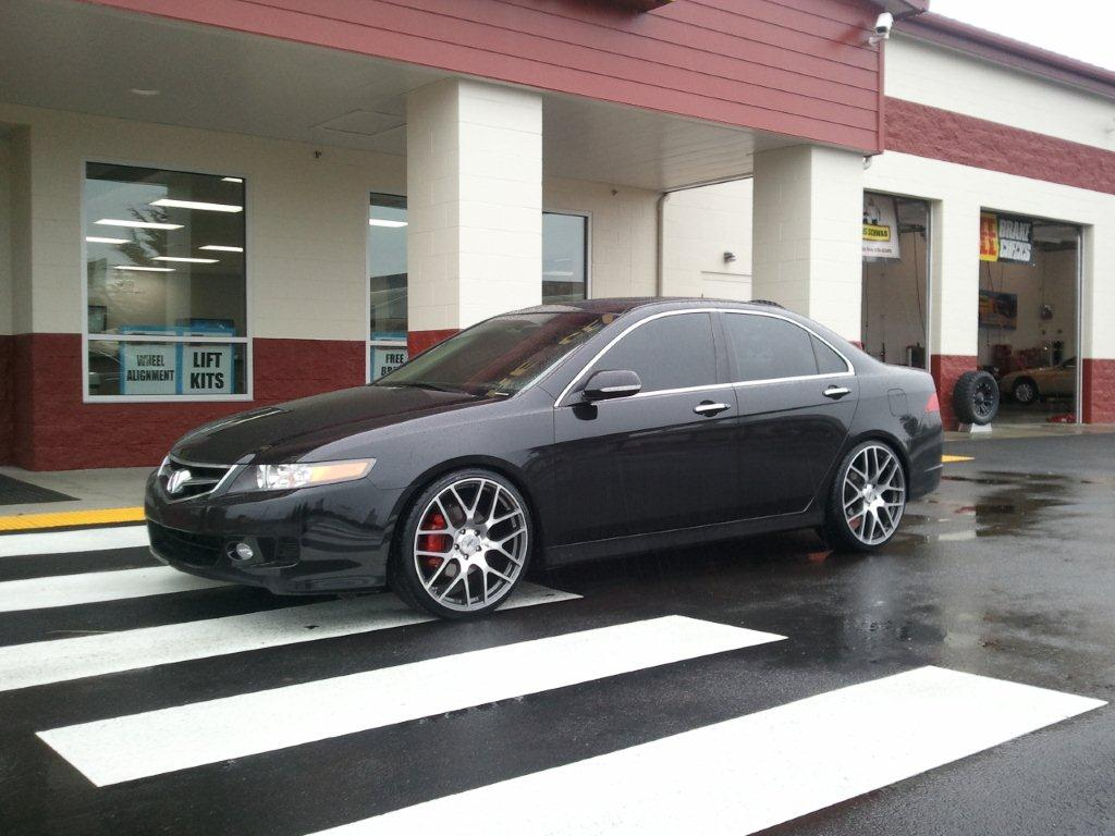 Honda Accord on TSW Nurburgring
