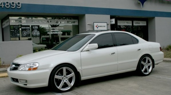 Honda Accord on TSW Rivage