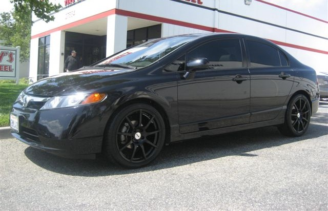 Honda Civic on TSW Interlargos