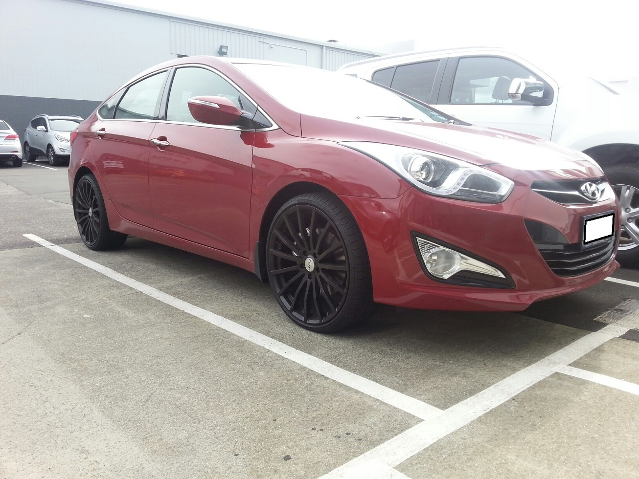 Hyundai I40 on TSW Mallory