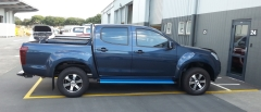 Isuzu DMax 2wd on HRS H400