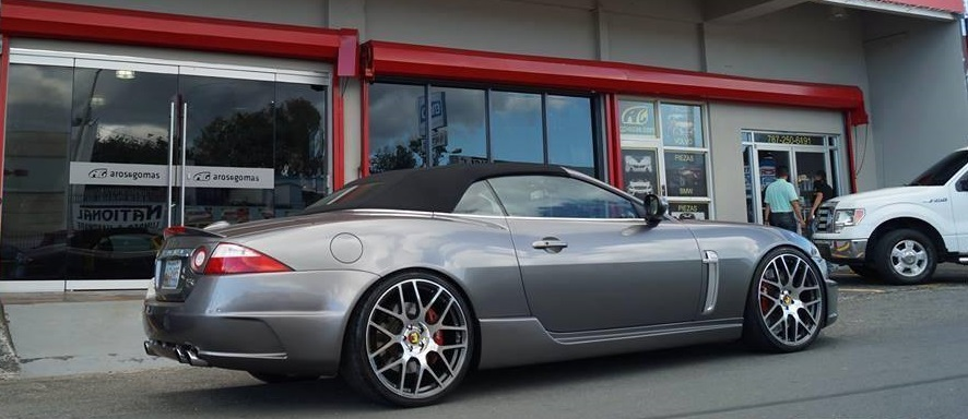 Jaguar XKR on TSW Nurburgring