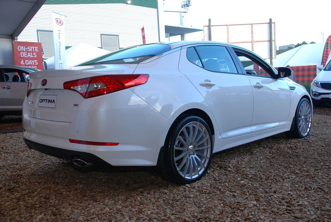 Kia Optima on TSW Mallory
