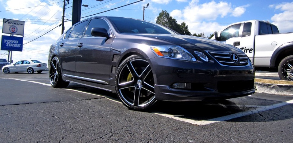 Lexus GS on TSW Rivage