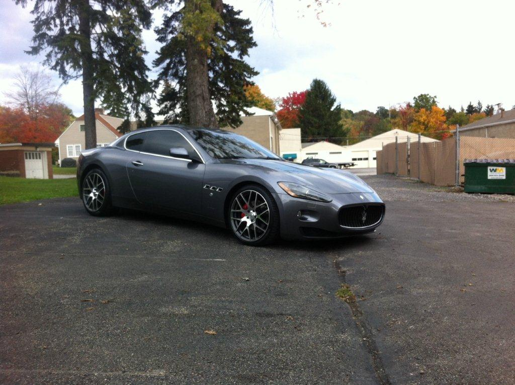 Maserati on TSW Nurburgring