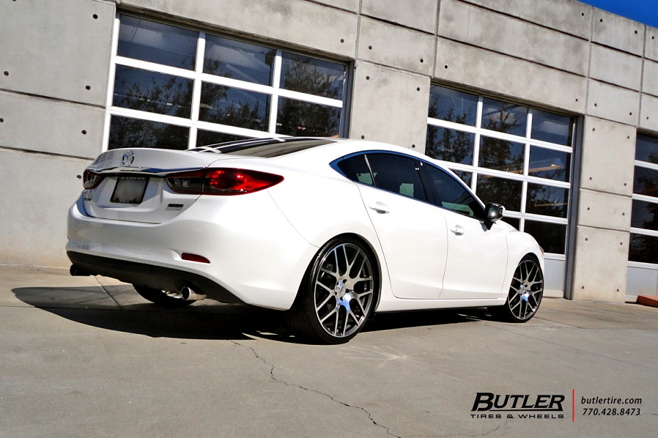 "Mazda 6 on 21"" TSW Nurburgring"