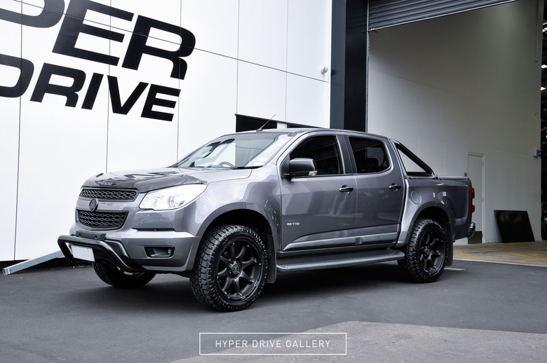 Holden Colorado Black Rhino Glamis Matt Black