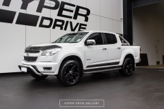 Holden Colorado BGW Tuff Matt Black