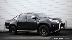 Isuzu Dmax on Black Rhino Selkirk