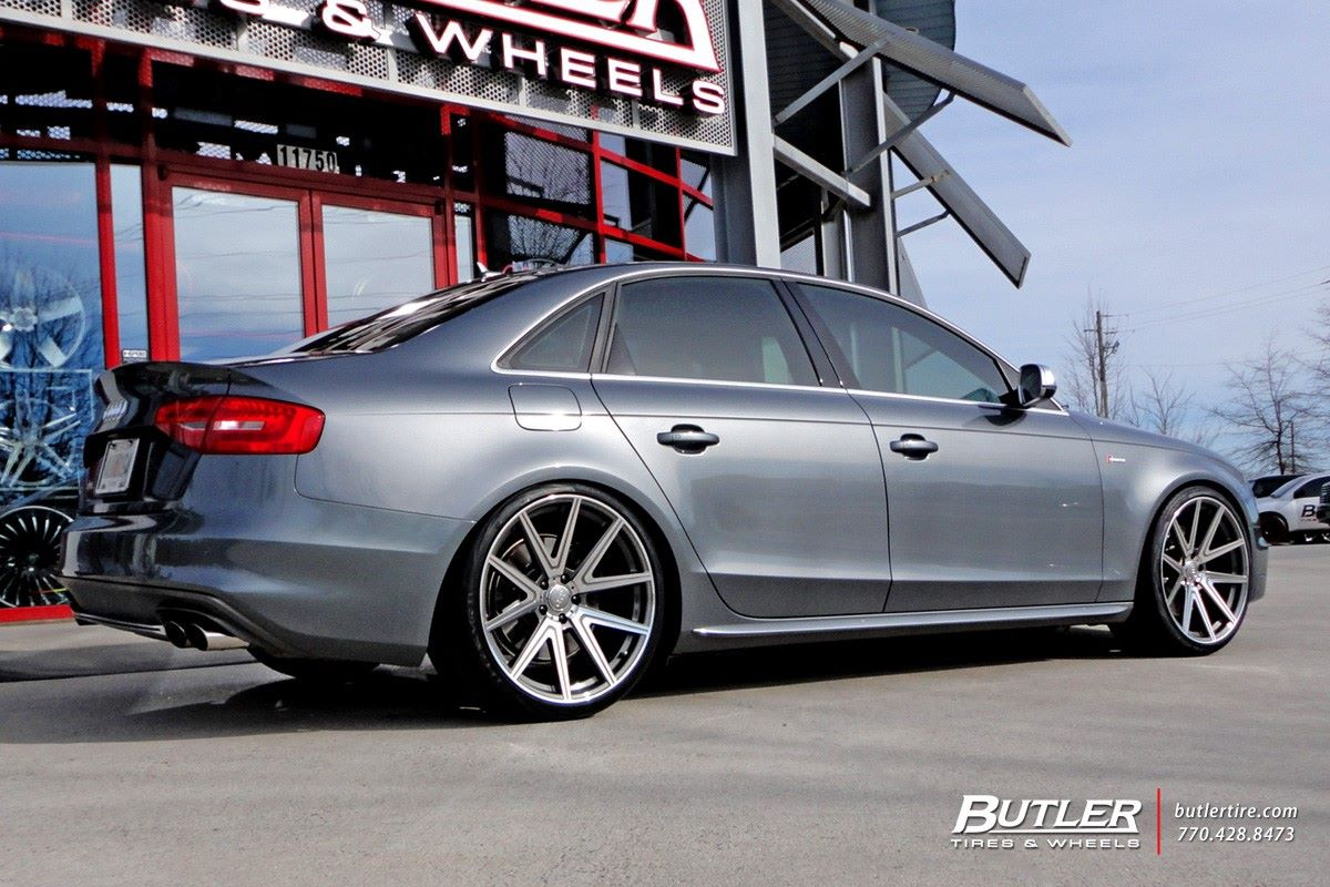 Audi S4 on TSW Rouge