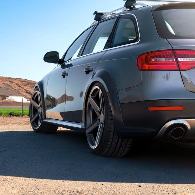 Audi Allroad on TSW Ascent