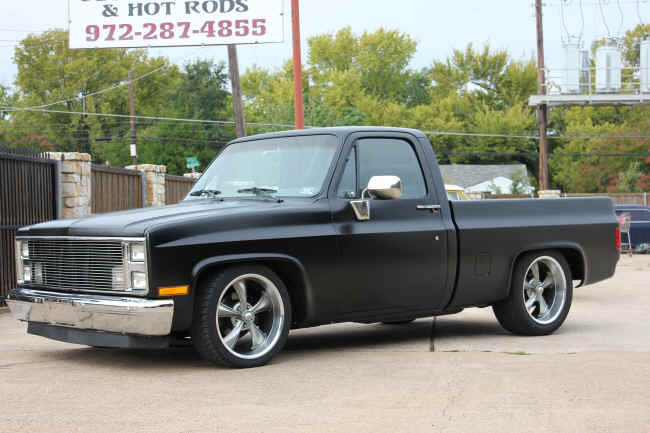 Chev C10 on Ridler 695
