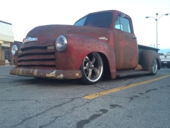 Chev pickup on Ridler 695