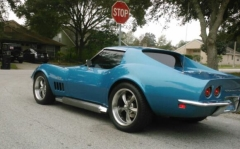 Corvette Stingray on Ridler 695