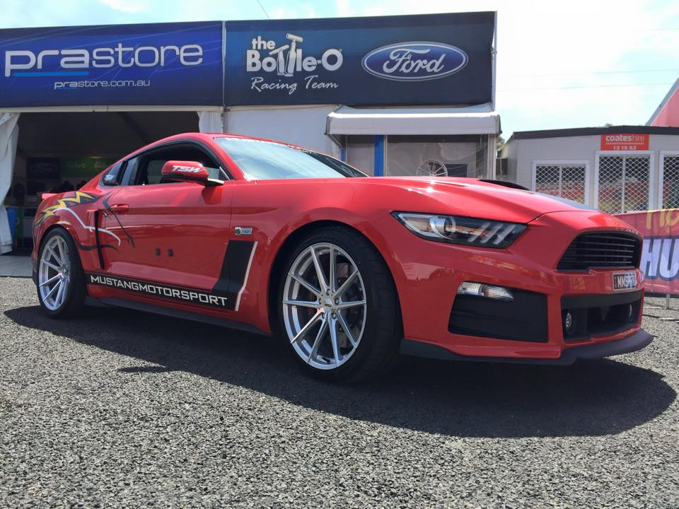 Ford Mustang on TSW Bathurst