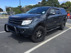 Ford Ranger on BlackRhino 265/50 Pioneer AT