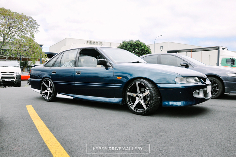 Holden Commodore on BGW Menace