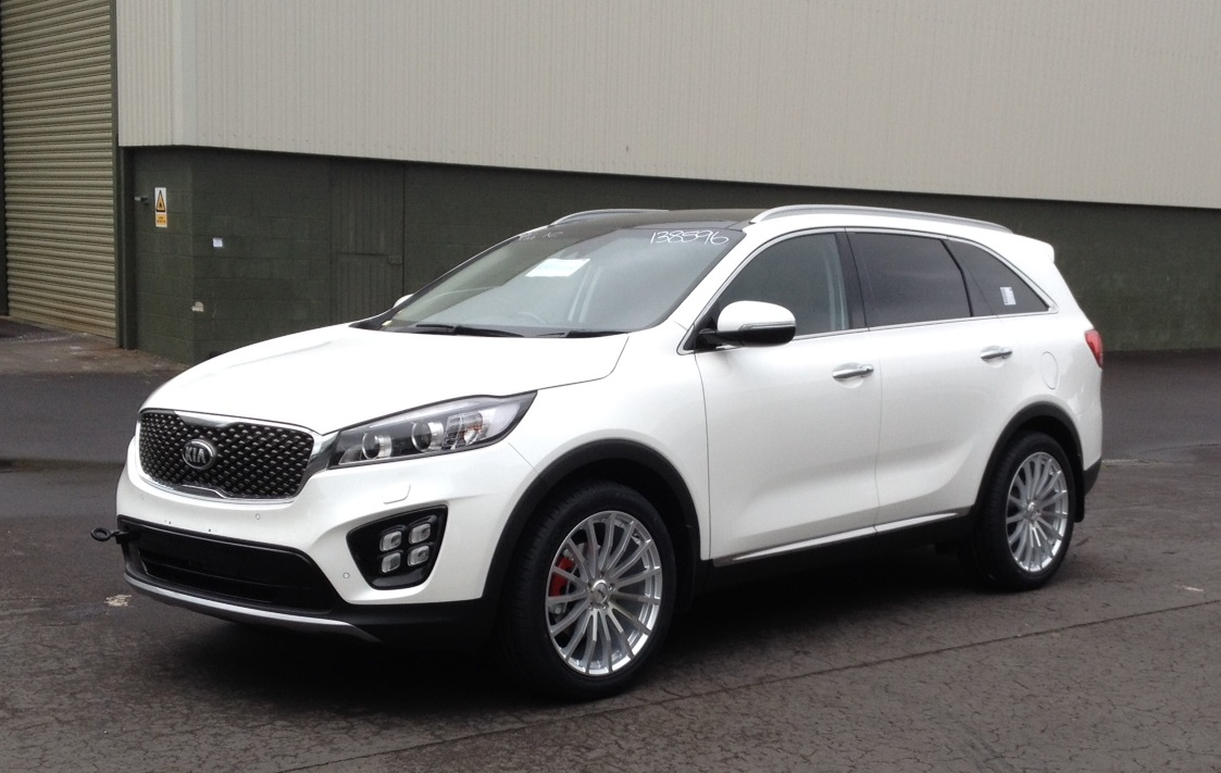 Kia Sorento on TSW Mallory