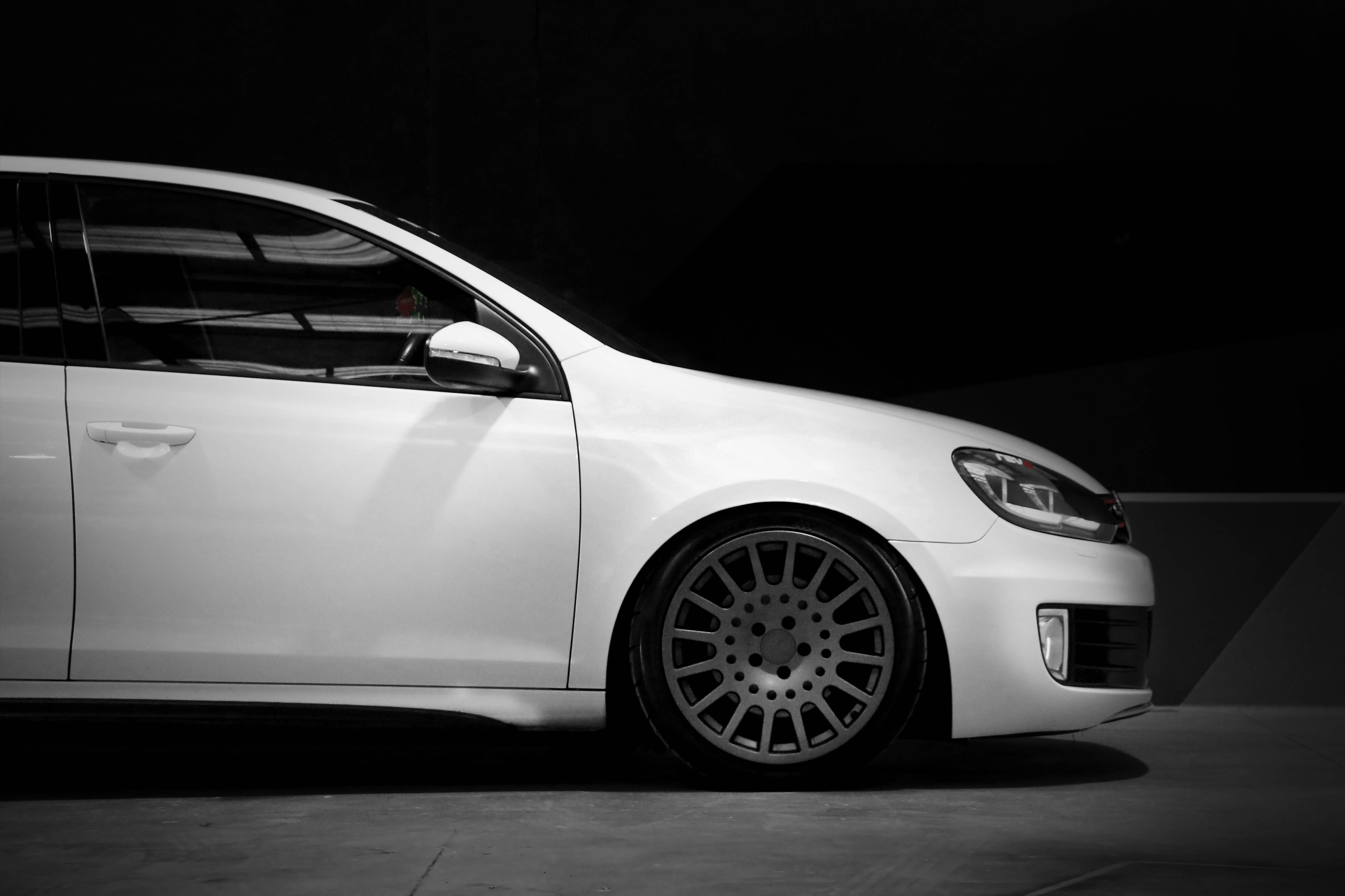 VW Mk6 GTI on TSW Holeshot rotary forged