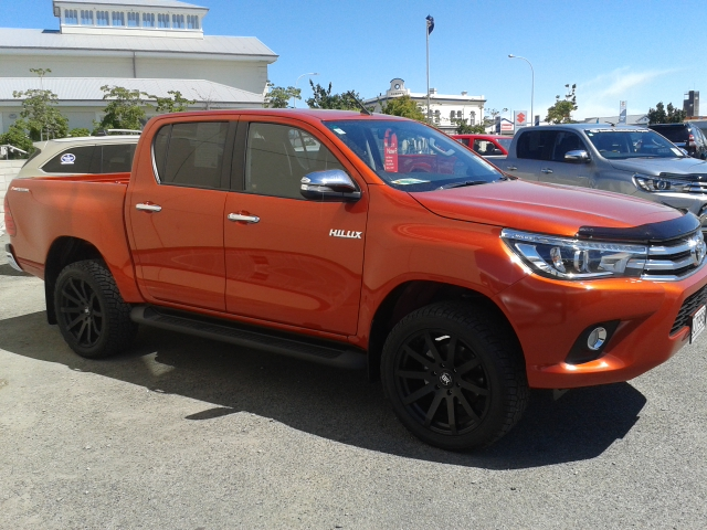 Toyota Hilux on Black Rhino Traverse