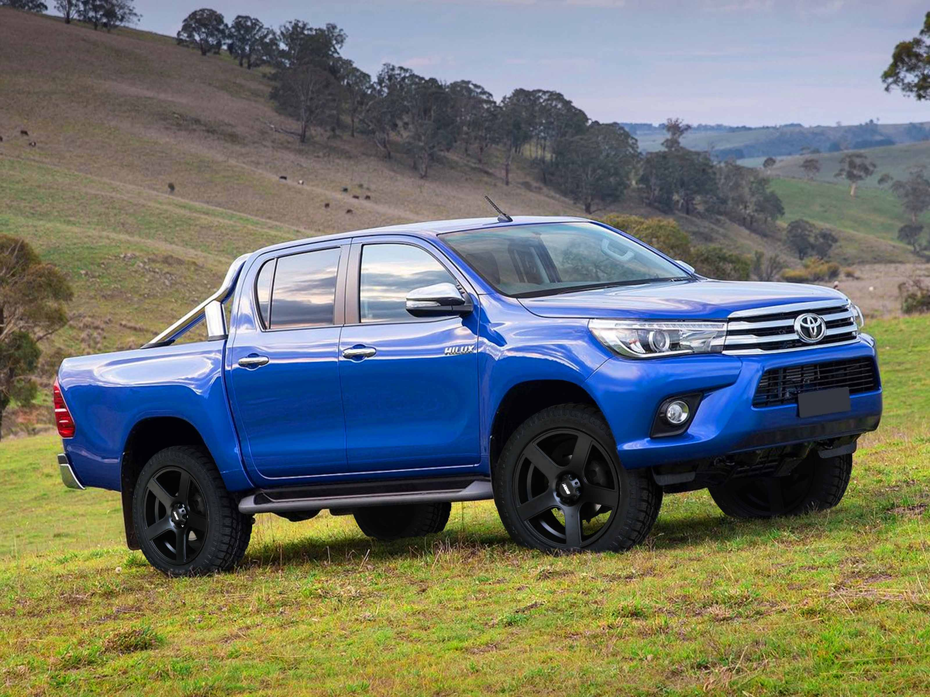 Toyota Hilux on BGW Stroke