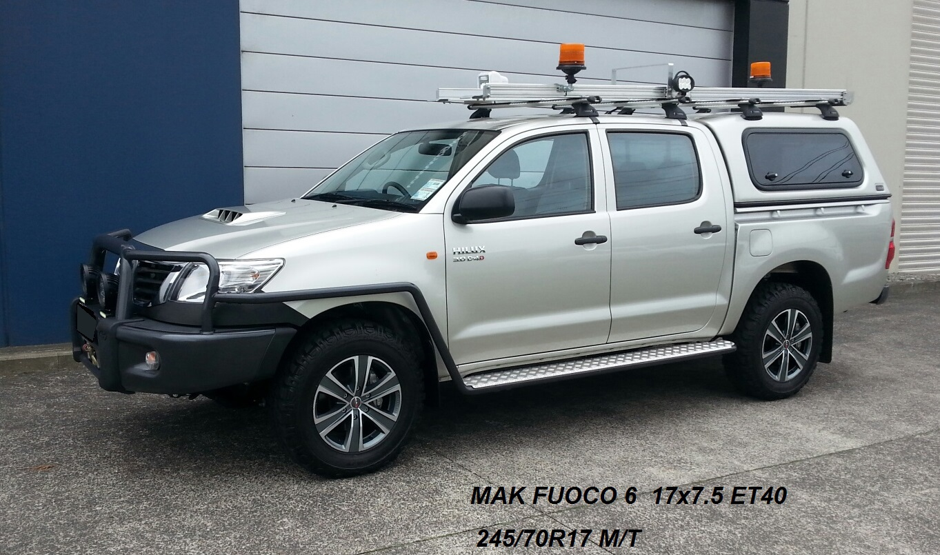 Toyota Hilux on MAK Fuoco6