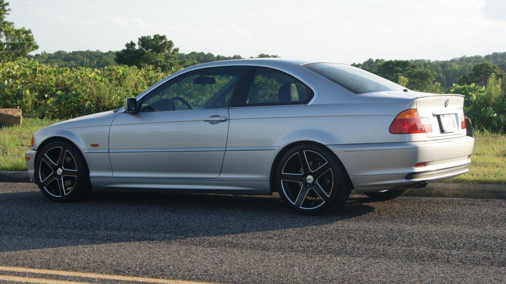BMW 3series on TSW Rivage