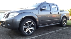 Nissan Navara on Black Rhino Peak & Pioneer AT