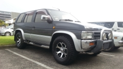 Nissan Terrano on HRS H-710