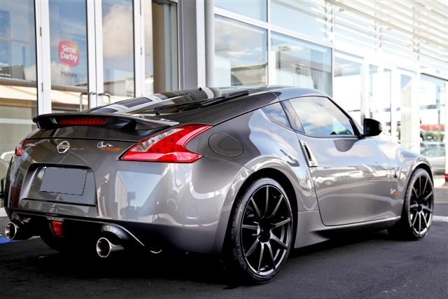Nissan 370Z on TSW Interlargos