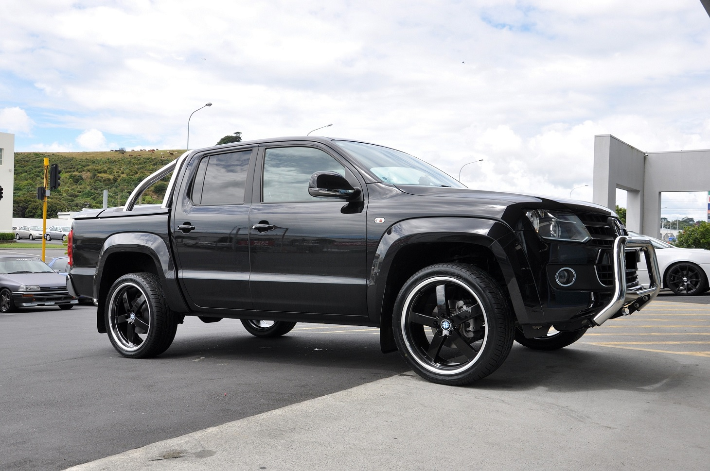 VW Amarok on Beyern Rapp
