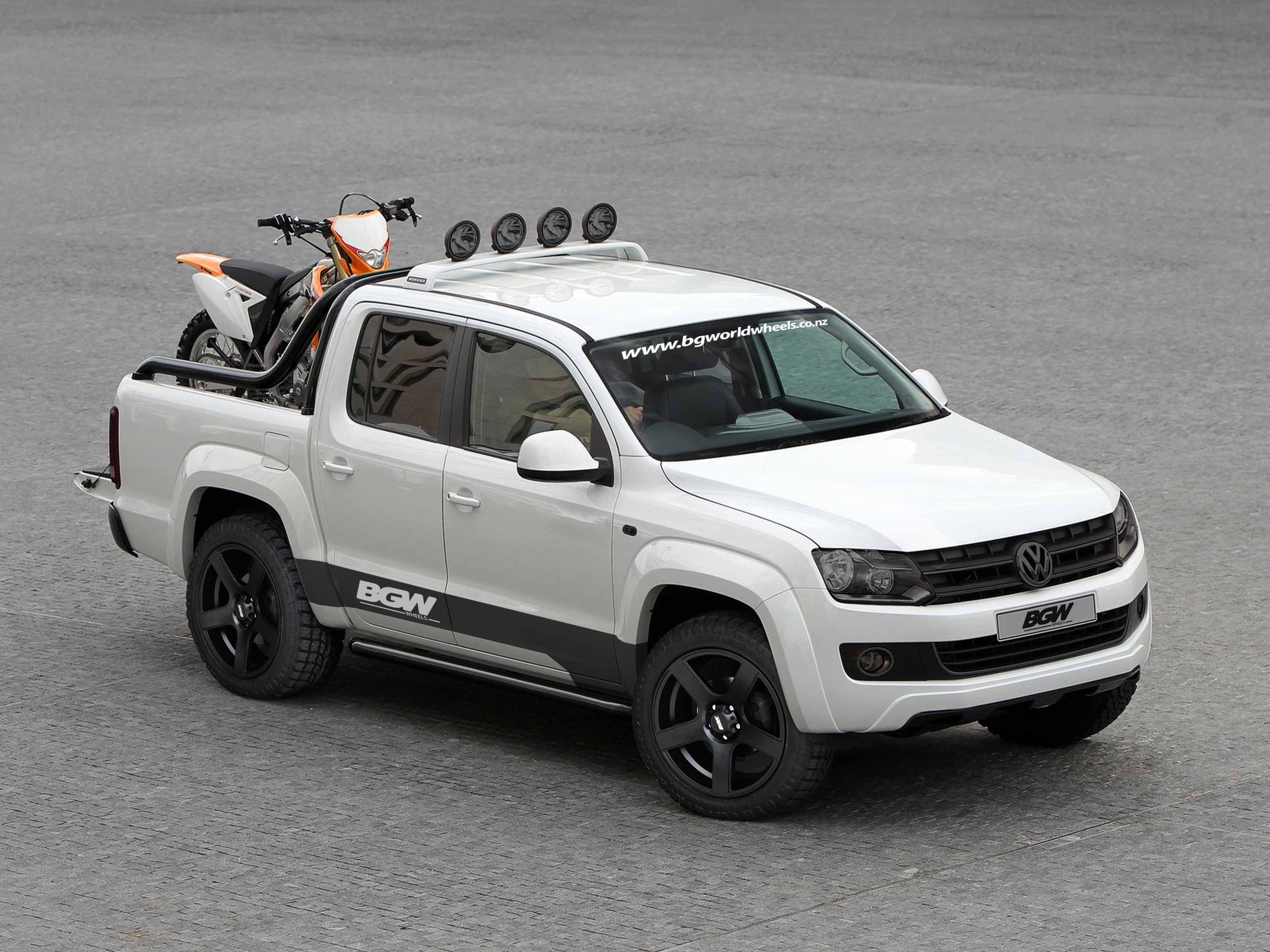 VW Amarok on BGW Stroke