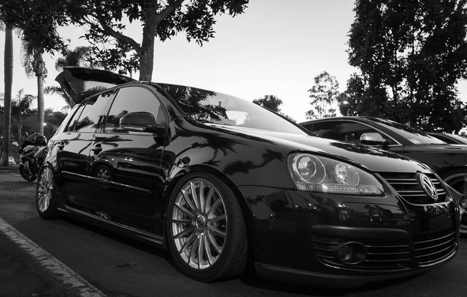 VW Golf on TSW Mallory