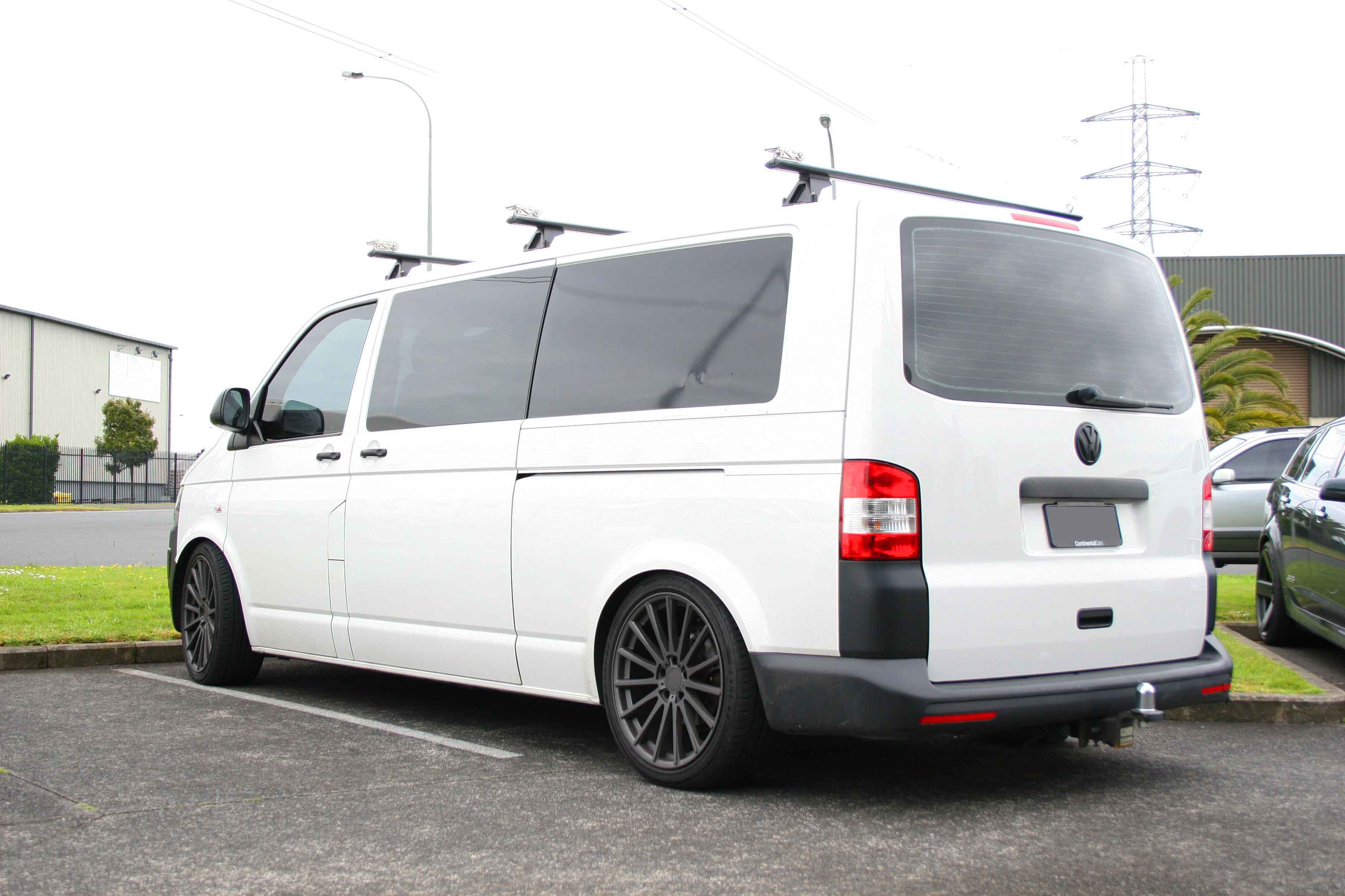 VW T6 on TSW Chicane