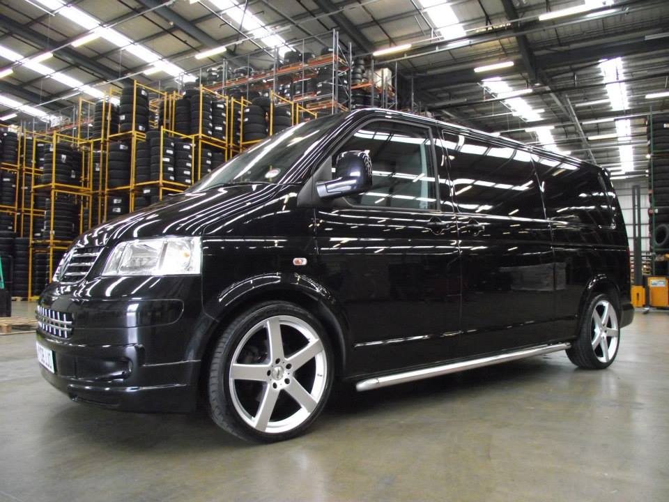 VW T5 on TSW Rivage