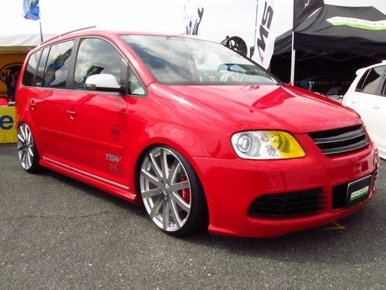 VW Touran on TSW Brooklands