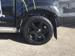 Toyota Hilux on BGW Blade 265/50r20 Pioneer AT