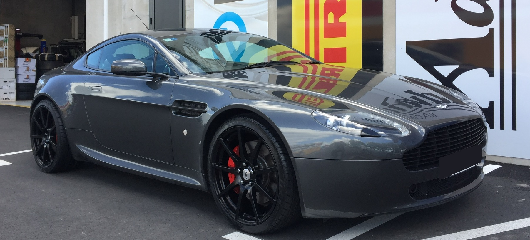 Aston Martin on TSW Interlargos