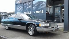Cadillac Fleetwood on Cragar SS