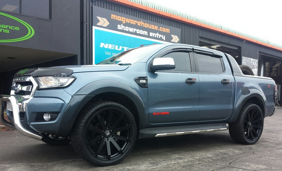 Ford Ranger on Black Rhino Traverse 24x10