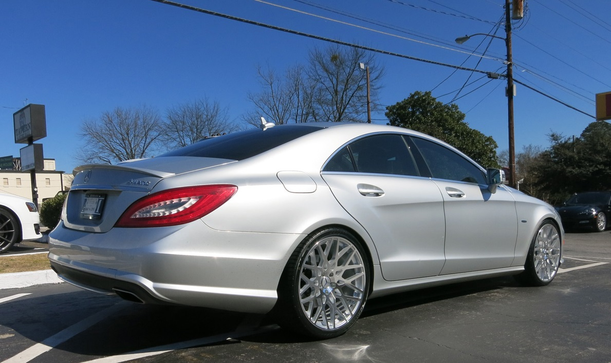 Mercedes CLS on TSW Vale