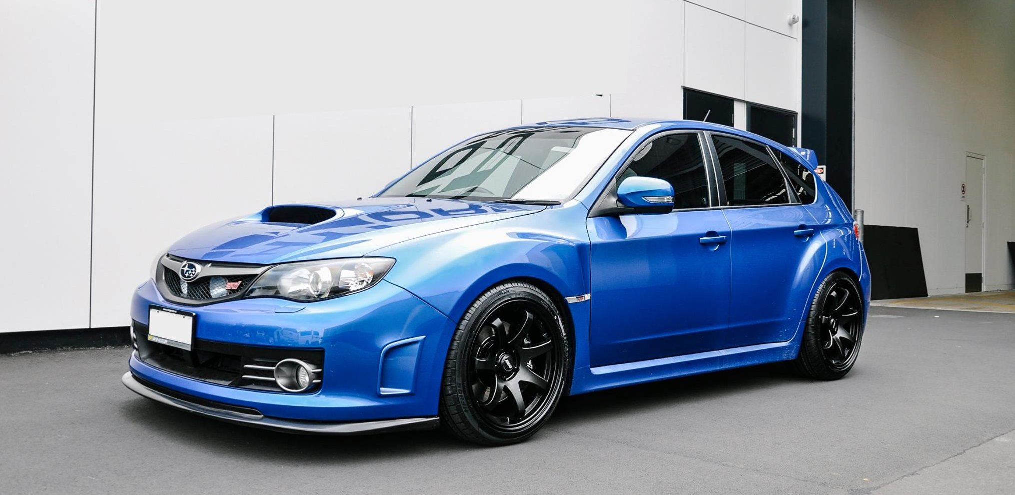 Subaru Impreza on BGW Mayhem 18x9.5 et35