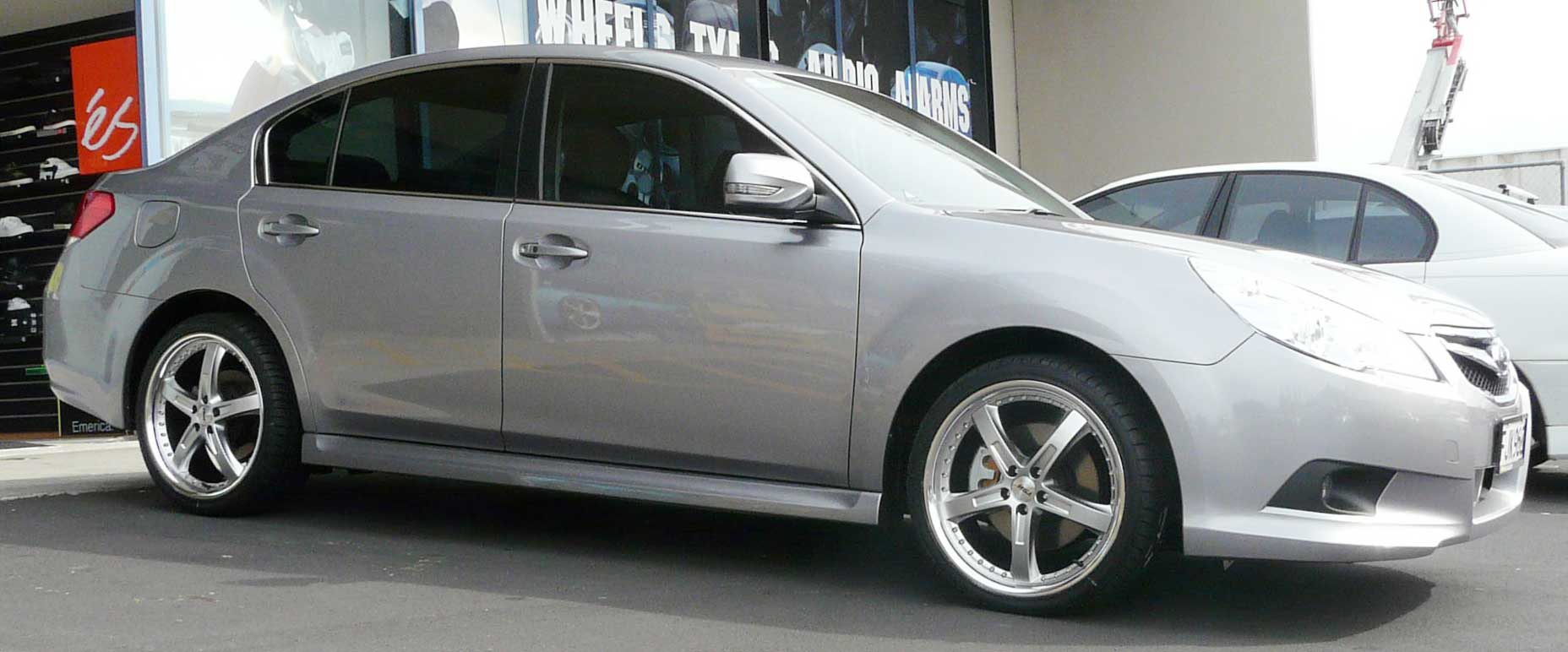 Subaru Legacy on TSW Jarama