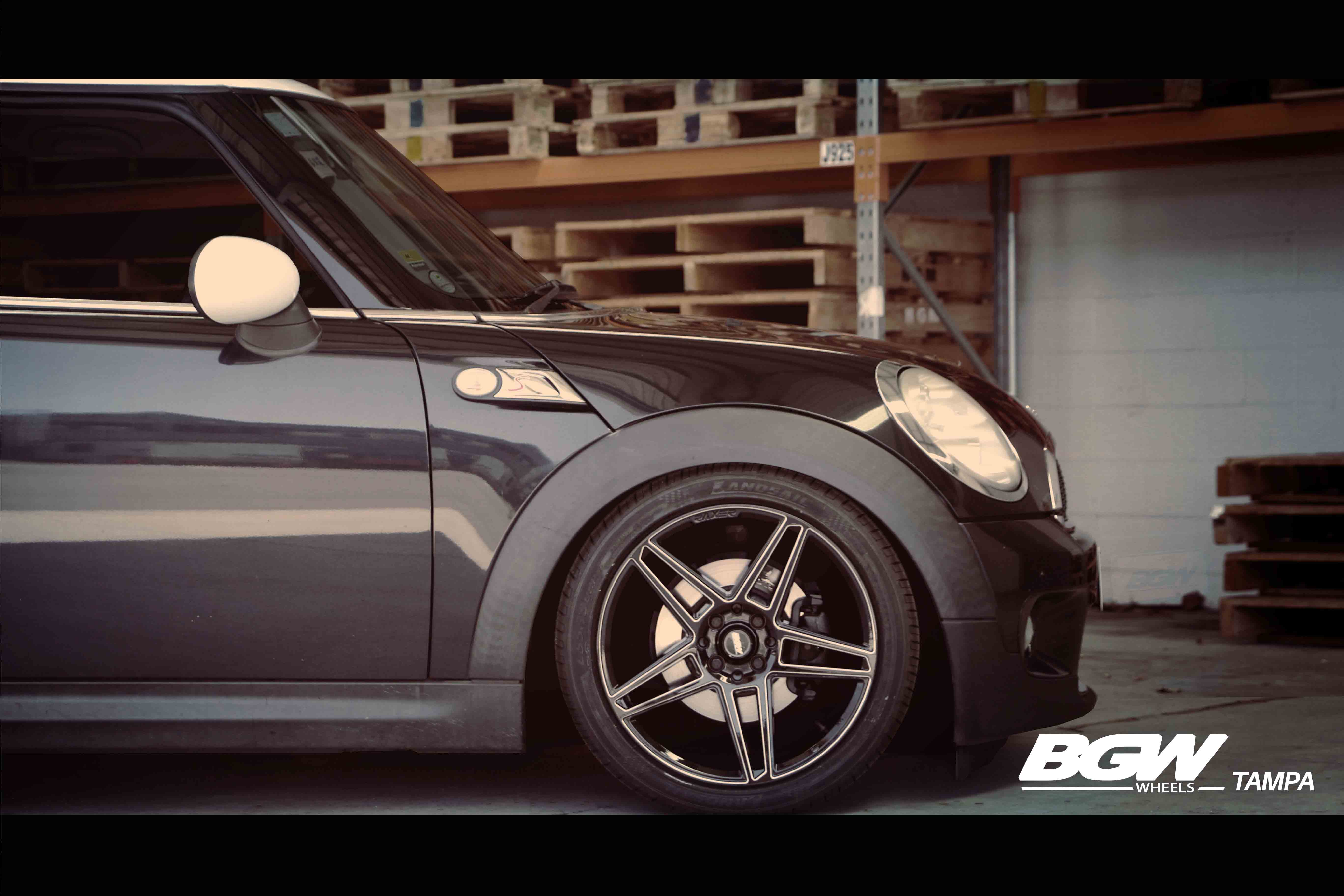 Mini Cooper S on BGW Tampa and Landsail LS588