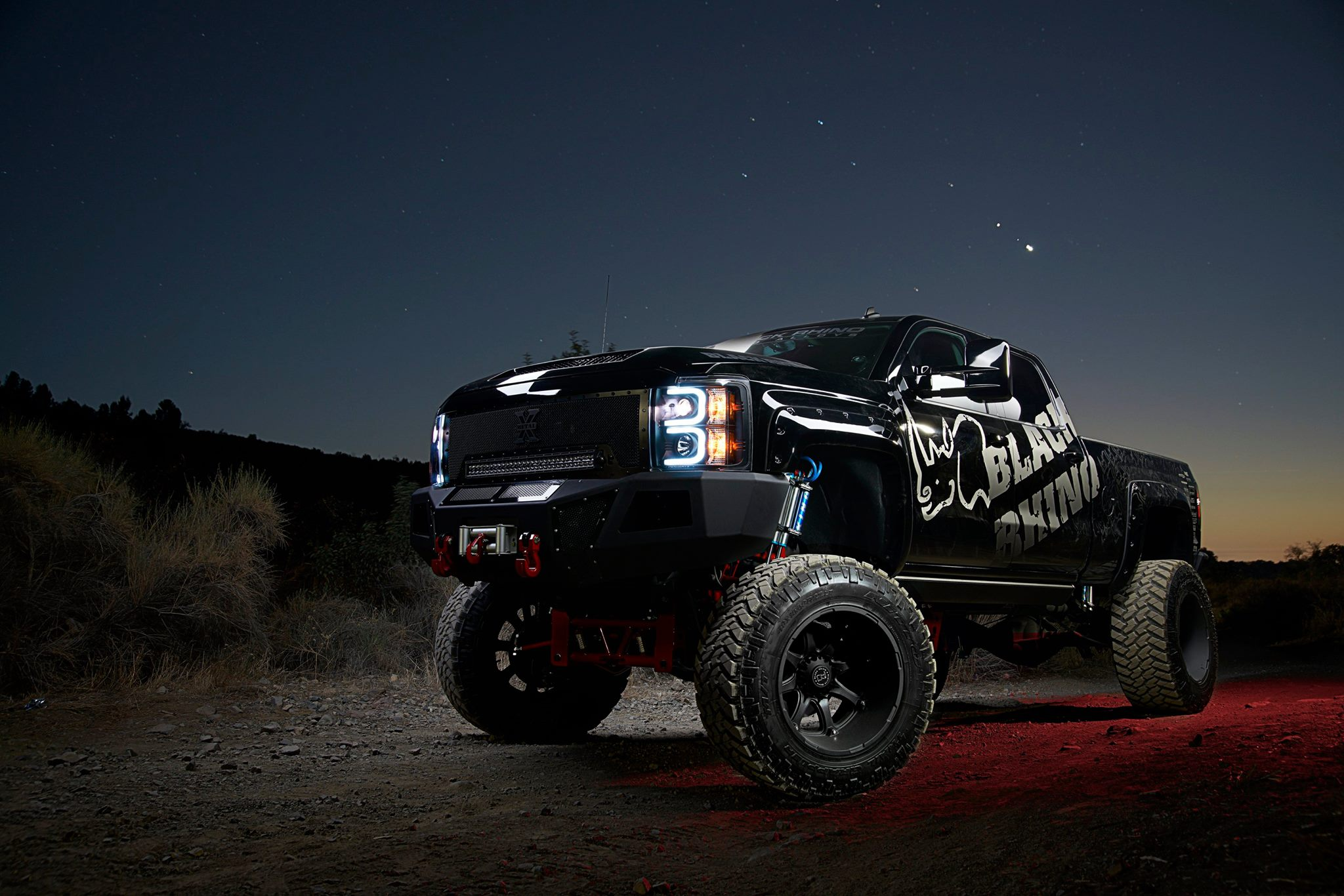 Chev 2500 on Black Rhino Glamis