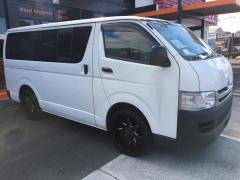 Toyota Hiace on ION 181