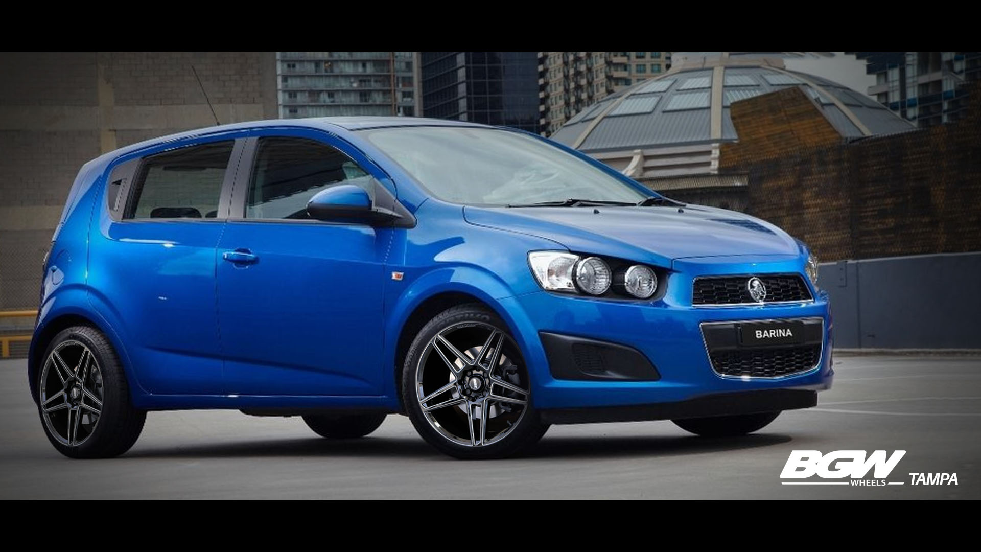 Holden Barina on BGW Tampa